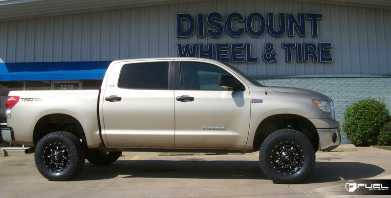 Toyota Tundra Krank - D517 Gallery - Fuel Off-Road Wheels