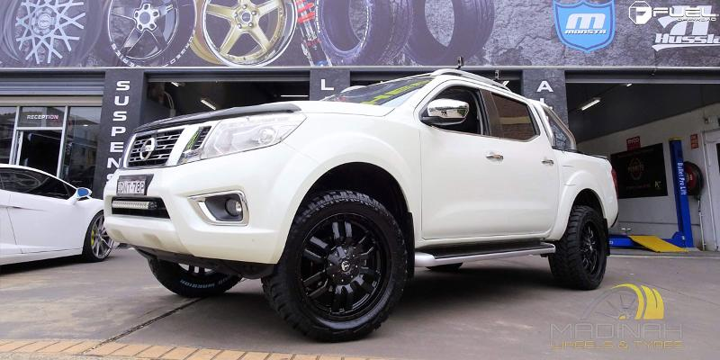 Nissan Navara with Fuel 1-Piece Wheels