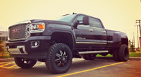 Maverick Dually Front - D538 on GMC Sierra