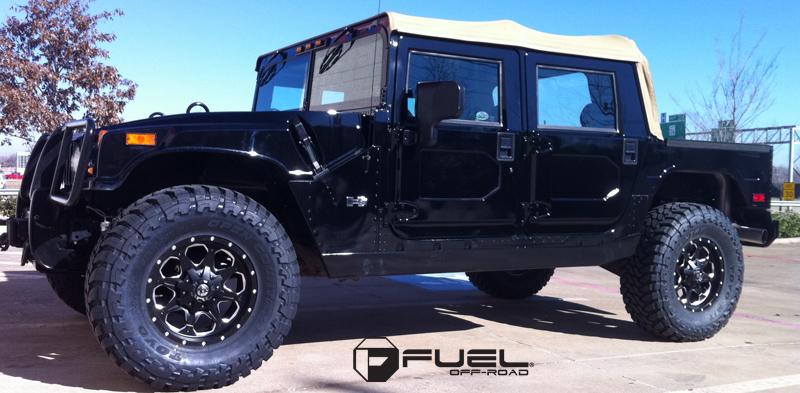Hummer H1 Boost - D534 Gallery - Fuel Off-Road Wheels