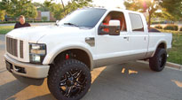 Full Blown - D554 on Ford F-250 Super Duty