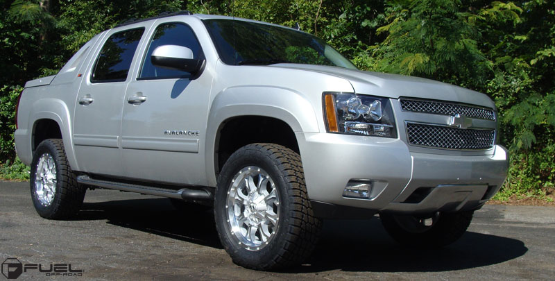 chevrolet avalanche krank d516 gallery fuel off road. Black Bedroom Furniture Sets. Home Design Ideas