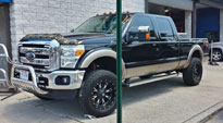 Ford F-250 Super Duty with Fuel 1-Piece Wheels Throttle - D513
