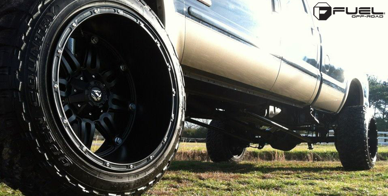 Ford F 350 Hostage D531 Gallery Fuel Off Road Wheels
