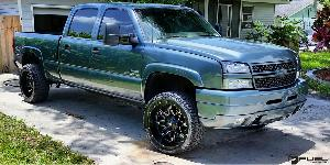 Chevrolet Silverado 2500 HD with Fuel 1-Piece Wheels Lethal - D567