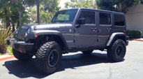 Jeep Rubicon with Fuel 1-Piece Wheels Trophy - D551