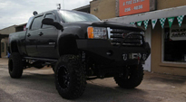 GMC Sierra 2500 HD with Fuel Deep Lip Wheels Maverick - D537