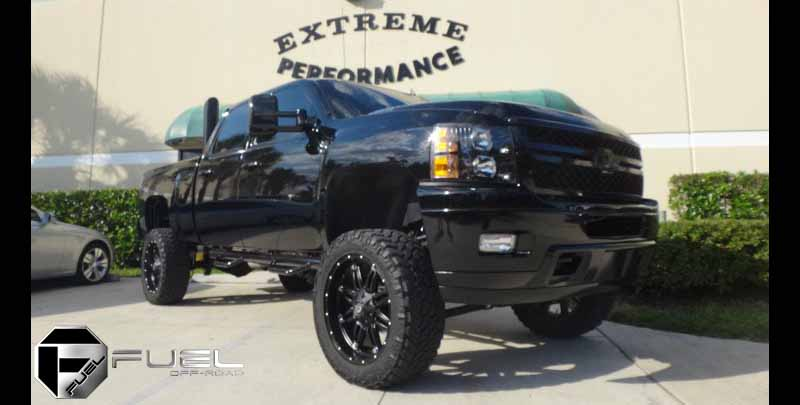 Chevrolet 2500HD Duramax Hostage - D531 Gallery - Fuel Off ...