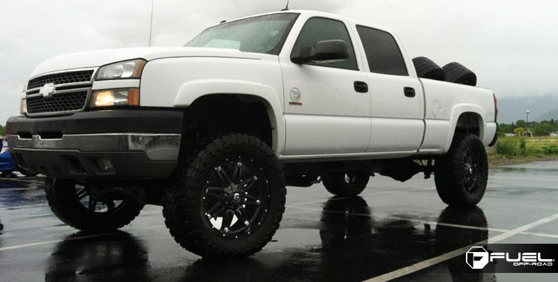 Jeep Leveling Kit >> Chevrolet Silverado 2500 Hostage - D531 Gallery - Fuel Off ...