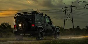Jeep Wrangler with Fuel 1-Piece Wheels Anza - D557