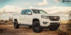 Chevrolet Colorado with Fuel 1-Piece Wheels Vector - D579