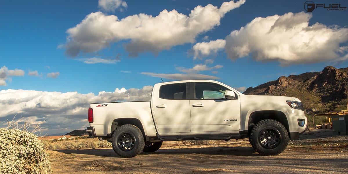 Chevrolet Colorado Vector - D579 Gallery - Fuel Off-Road Wheels