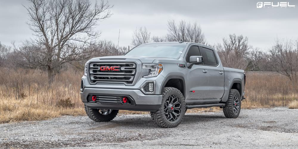 GMC Sierra FUEL ONE PIECE Assault - D576