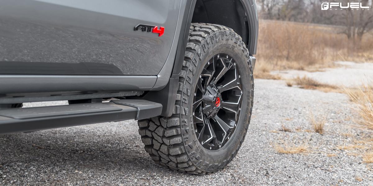 Gmc Sierra Assault D576 Gallery Fuel Off Road Wheels