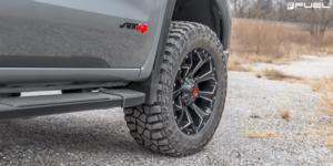 GMC Sierra with Fuel 1-Piece Wheels Assault - D576