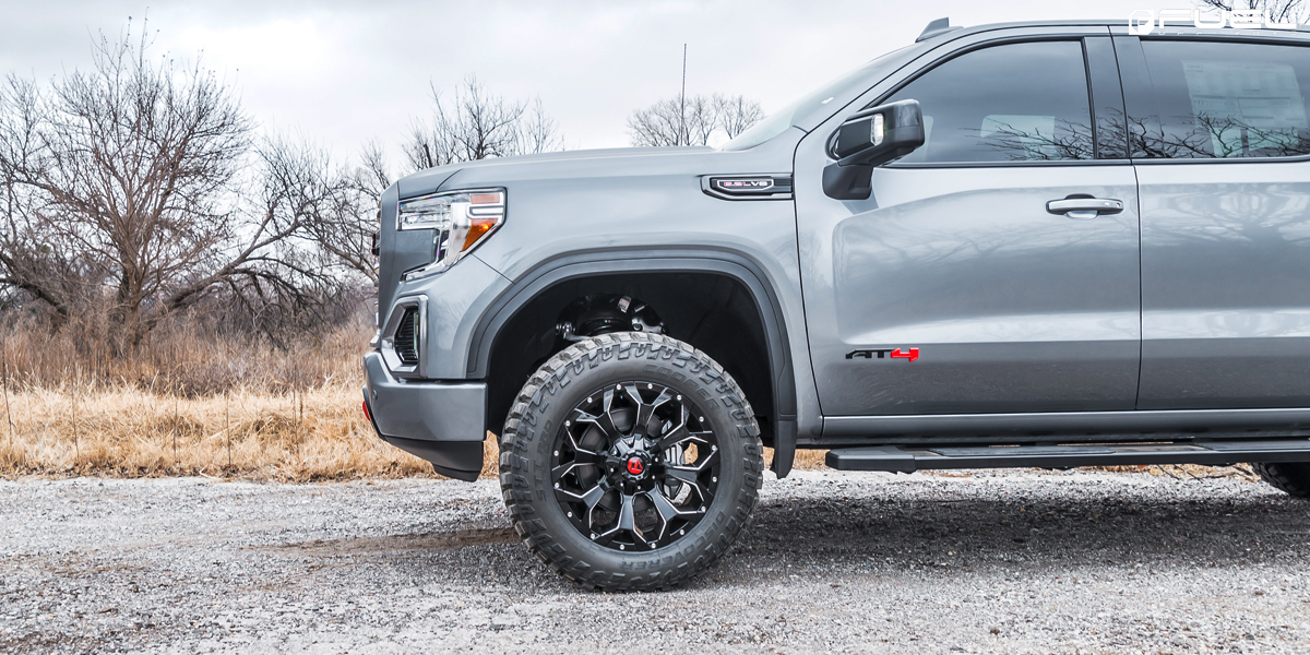 GMC Sierra Assault - D576 Gallery - Fuel Off-Road Wheels