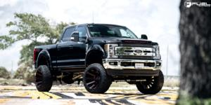 Ford F-250 Super Duty with Fuel 1-Piece Wheels Contra - D643
