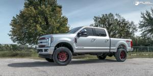 Ford F-250 Super Duty with Fuel 1-Piece Wheels Ignite - D663
