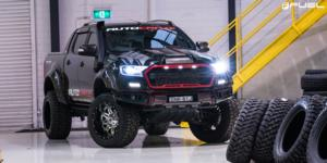 Ford Ranger with Fuel 2-Piece Wheels Lethal - D266