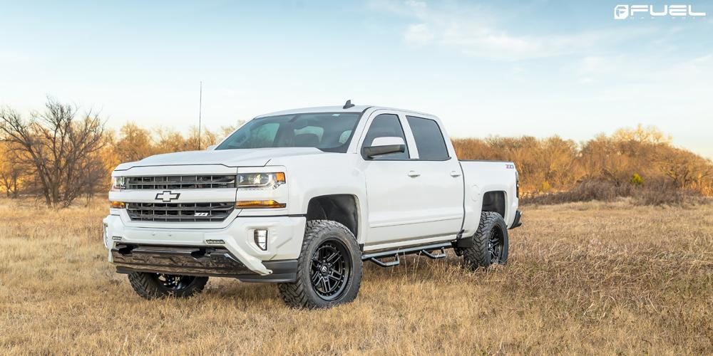 Chevrolet Silverado 1500 with Fuel 1-Piece Wheels Nitro - D667