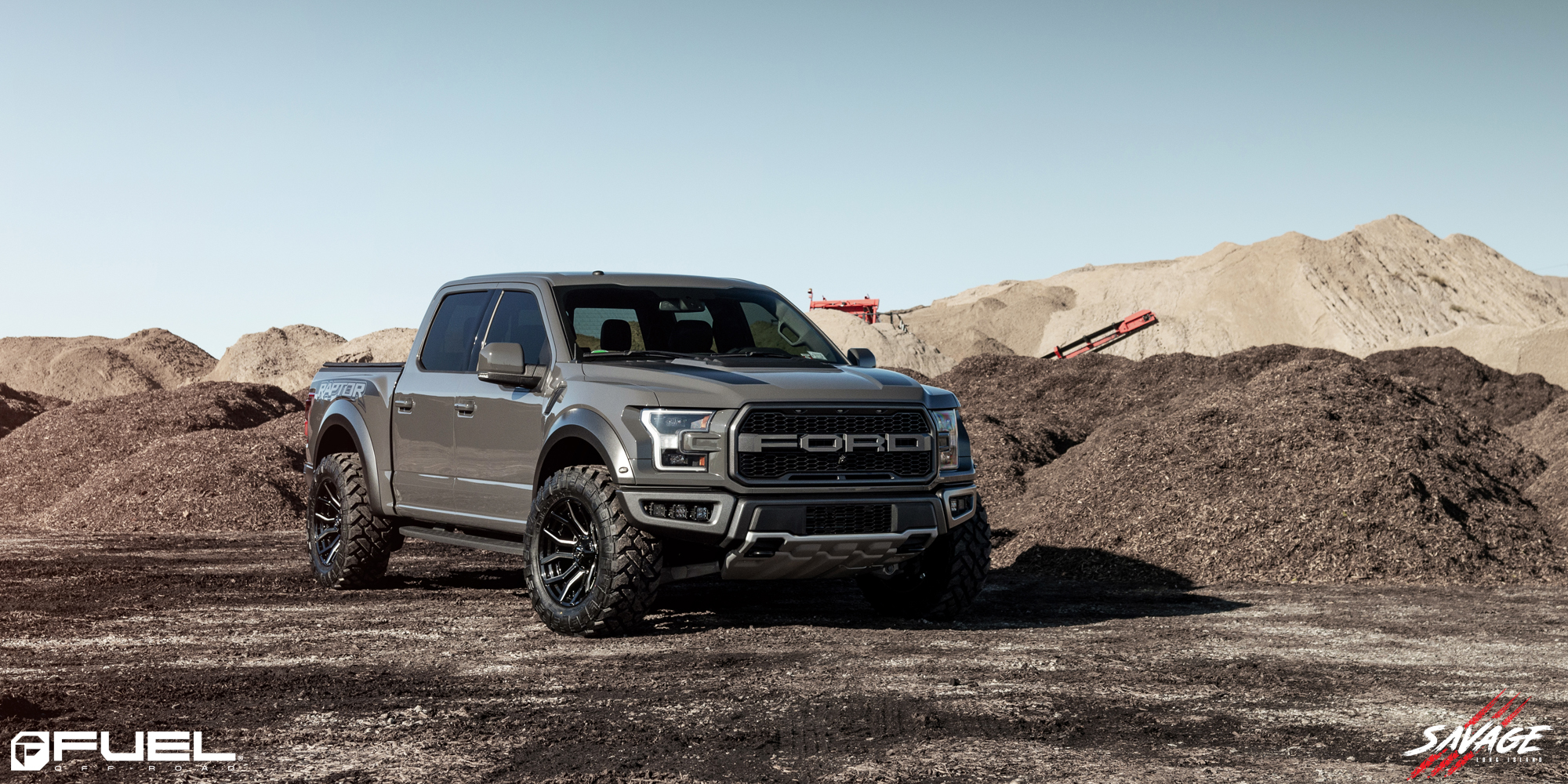 Ford F-150 Rage - D711 Gallery - Fuel Off-Road Wheels