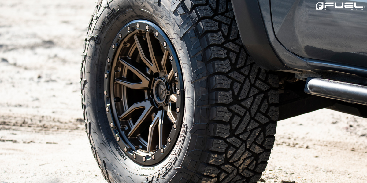 Fuel Trophy Wheels >> Toyota Tacoma Rebel 6 - D681 Gallery - Fuel Off-Road Wheels
