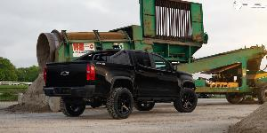Chevrolet Colorado with Fuel 1-Piece Wheels Ripper - D589