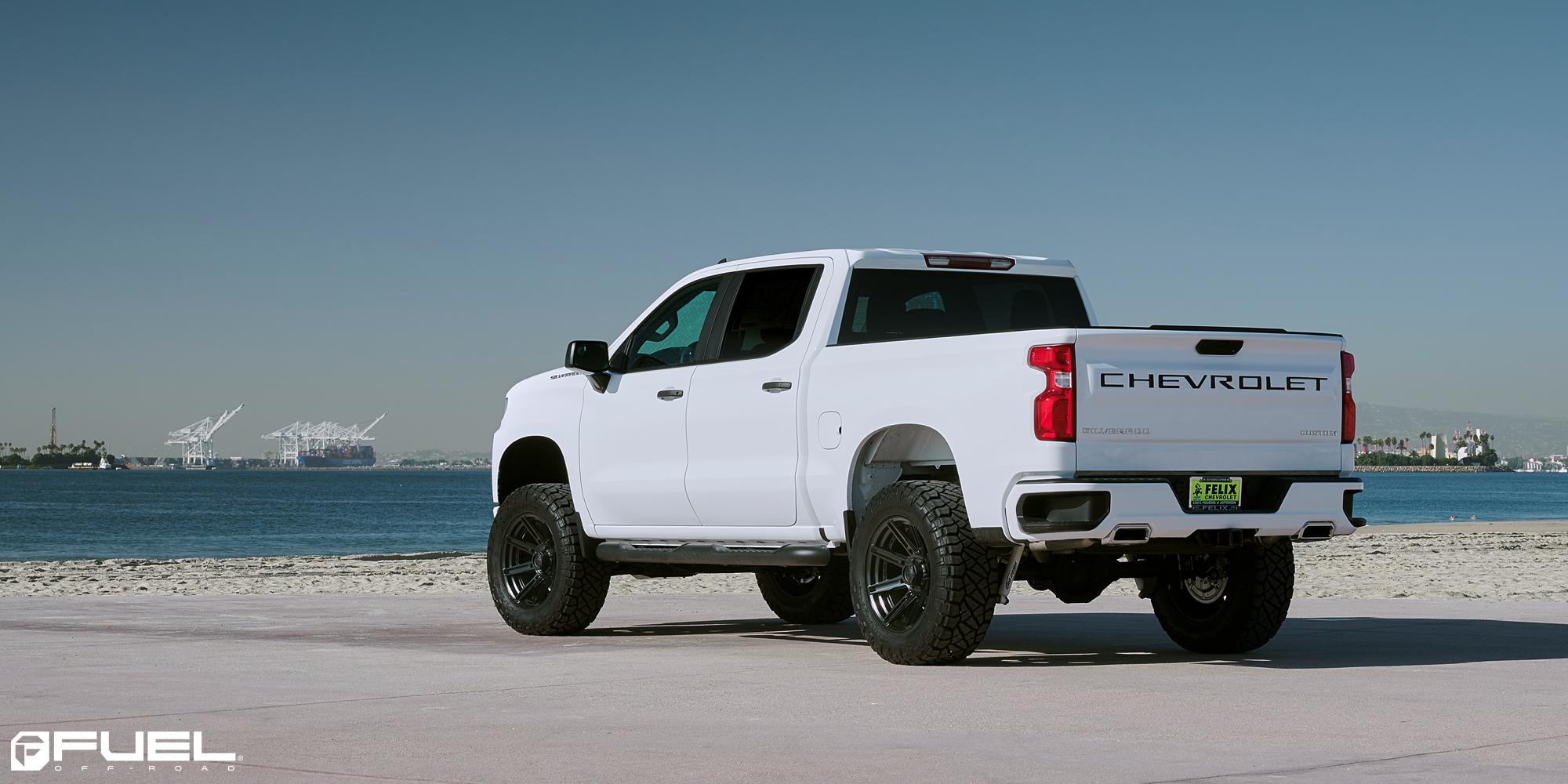 Chevrolet Silverado 1500 Rogue - D709 Gallery - Fuel Off ...