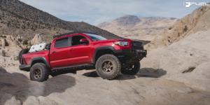 Toyota Tacoma with Fuel 1-Piece Wheels Shok - D666