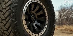 Jeep Wrangler with Fuel 1-Piece Wheels Tactic - D629