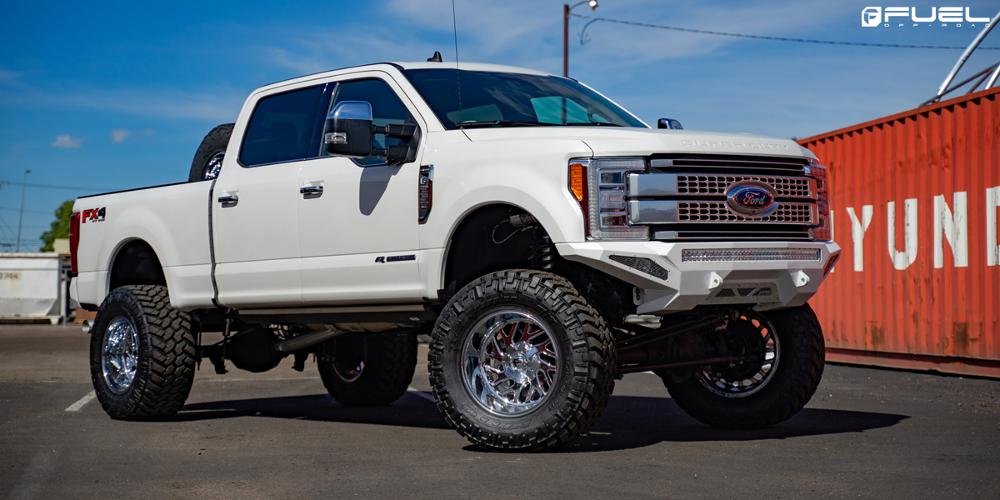 Ford F-250 Super Duty Triton - D609