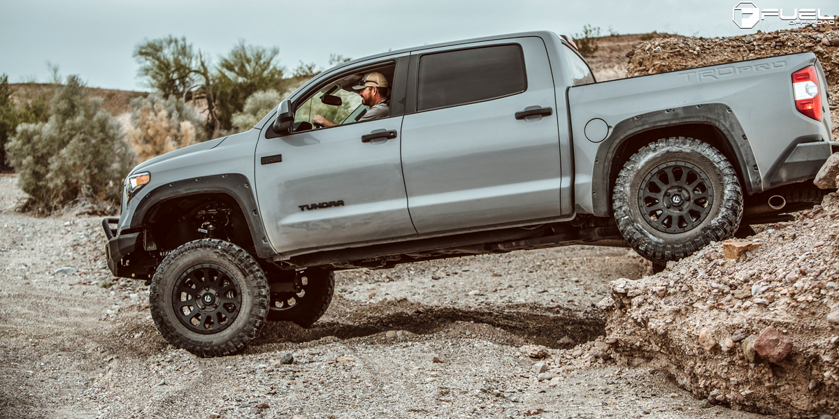 Toyota Tundra Vector D579 Gallery Fuel Off Road Wheels
