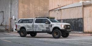 Ford F-250 with Fuel 1-Piece Wheels