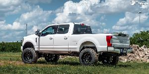 Ford F-250 Super Duty with Fuel 1-Piece Wheels Vortex - D637
