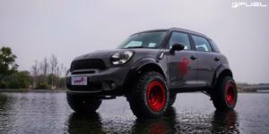 Mini Cooper with Fuel 1-Piece Wheels Zephyr Beadlock - D100