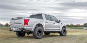 Ford F-150 Raptor with Fuel 1-Piece Wheels Zephyr - D633