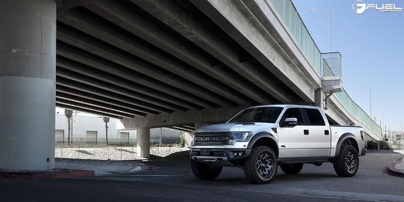 Ford F-150 Raptor with Fuel 1-Piece Wheels Ambush - D555