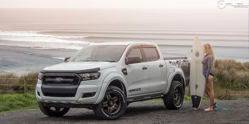 Ford Ranger with Fuel 1-Piece Wheels Anza - D583