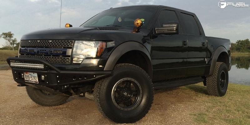 Ford F-150 Raptor with Fuel 1-Piece Wheels Anza - D557