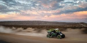 ATV - Yamaha YXZ with Fuel UTV Wheels Anza - D557 - UTV