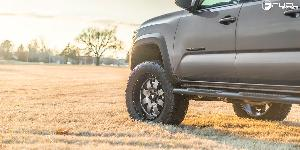 Toyota Tacoma with Fuel 1-Piece Wheels Baja - D628