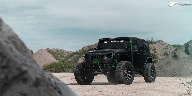 Jeep Wrangler Contra - D616