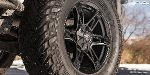 Jeep Wrangler with Fuel 1-Piece Wheels Dakar - D624