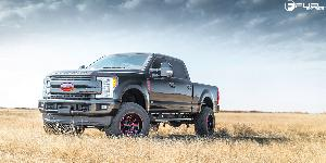 Ford F-250 Super Duty with Fuel 1-Piece Wheels Hardline - D621