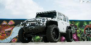 Jeep Wrangler with Fuel 1-Piece Wheels Hostage - D531