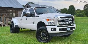 Ford F-350 Super Duty Platinum with Fuel 2-Piece Wheels Maverick - D262