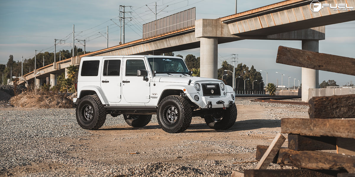 Jeep Wrangler Podium - D619 Gallery - Fuel Off-Road Wheels