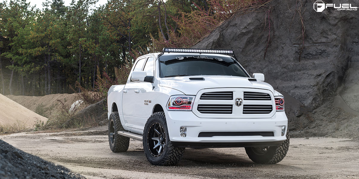 dodge ram 1500 rampage d238 gallery fuel off road wheels. Black Bedroom Furniture Sets. Home Design Ideas