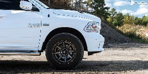 Dodge Ram 1500 with Fuel 2-Piece Wheels Rampage - D238