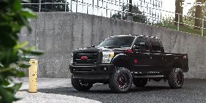 Ford F-250 Super Duty with Fuel 1-Piece Wheels Stroke - D612